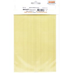Maquett A483005 Metal Sheets Brass Grid Mesh 0,76mm 140x220x06mm
