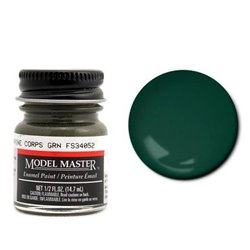 Testors Model Master 2025 Enamel Marine Corps Green Flat 14,7ml