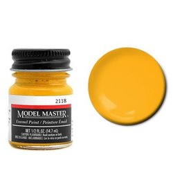 Testors Model Master 2118 Enamel Deep Yellow Flat 14,7ml