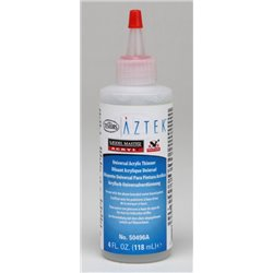 Testors Model Master 50496 Thinner Fine Line For Acrylic 120ml