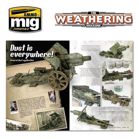 AMMO OF MIG A.MIG-4518 TWM Issue 19 Pigments English