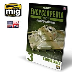 AMMO OF MIG A.MIG6152 Encyclopedia Of Armour Modelling Techniques Vol.3 Eng