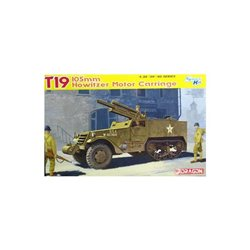 DRAGON 6496 1/35 T19 - 105mm Howitzer Motor Carriage