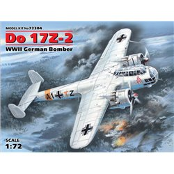 ICM 72304 1/72 Do 17Z-2, WWII German Bomber