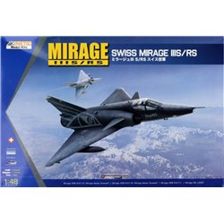 Kinetic K48058 1/48 Dassault Mirage IIIS/RS