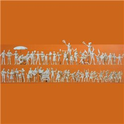 Preiser 16342 HO 1/87 Figurines Fête – Festivity 60pcs