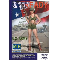 MasterBox MB24003 1/24 Pin-up series Kit No. 3 Alice U.S. Army