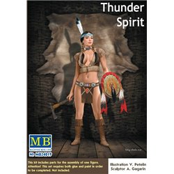MasterBox MB24019 1/24 Pin Up Serie - Thunder Spirit