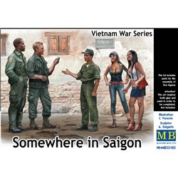 MasterBox MB35185 1/35 Somewhere in Saigon Vietnam War Series