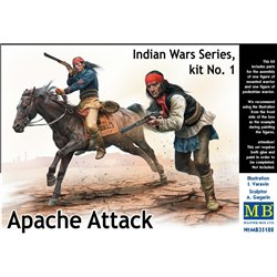 MasterBox MB35188 1/35 Apache Attack Indian War Series Kit N°1