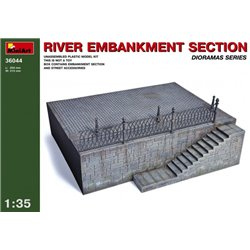 Miniart 36044 1/35 River Embankment Section