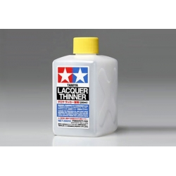 TAMIYA 87077 Lacquer Thinner 250ml / Dilaunt cellulosique