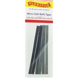 FLEX-I-FILE FF3211 Micro Cloth Refill Tape Assortment