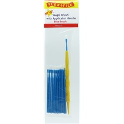 FLEX-I-FILE FFM933001 Magic Brush (Blue Brush) with Applicator Handle