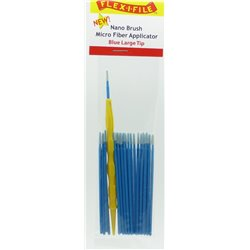 FLEX-I-FILE FFN930005 Blue Large Tip, Nano Brush Micro Fiber