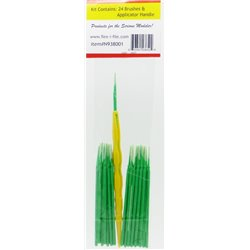 FLEX-I-FILE FFN938001 Green Knife Tip, Nano Brush Micro Fiber Applicator