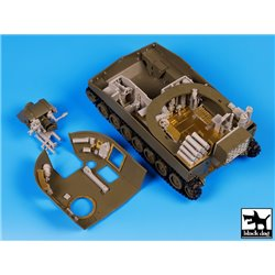 Black Dog T35101 1/35 M 109A2 interior accessories set