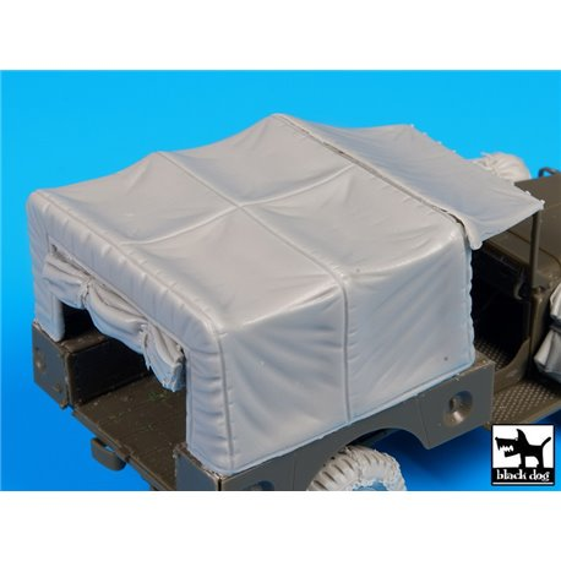 Black Dog T35103 1/35 US Dodge canvas accessories set