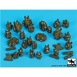 Black Dog T35173 1/35 French equipment accessories set