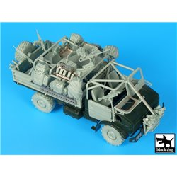 Black Dog T35182 1/35 Unimog Belgian special forces accessories set
