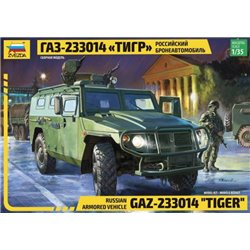 "ZVEZDA 3668 1/35 Russian Armored Vehicle GAZ-233014 ""Tiger"""