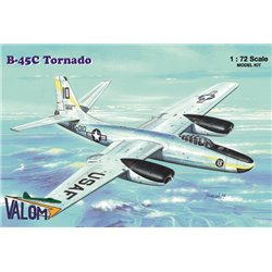 VALOM 72121 1/72 North American B-45C Tornado