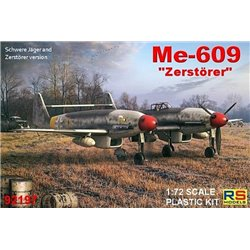 RS MODELS 92197 1/72 Messerschmitt Me 609