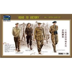 Riich RV35023 1/35 Road to victory WWII British leader set