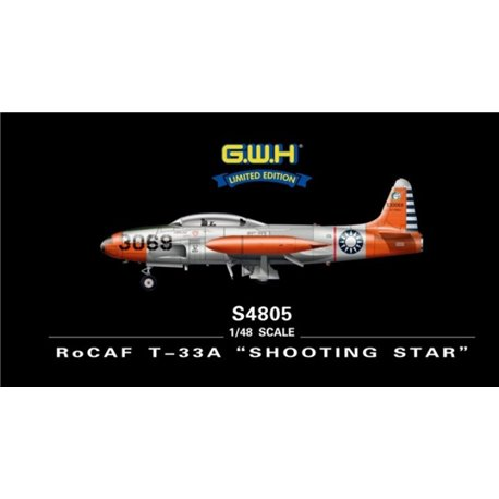 """Great Wall Hobby S4805 1/48 ROCAF T-33A """"Shooting Star"""""""