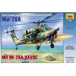 ZVEZDA 7246 1/72 Mil Mi-28A Havoc Russian Attack Helicopter