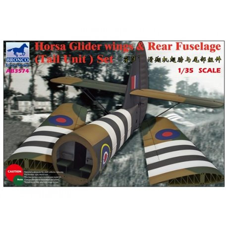 BRONCO AB3574 1/35 Horsa Glider Wings & Rear Fuselage (Tail Unit) Set