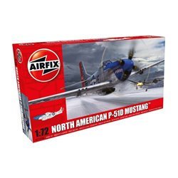 AIRFIX A01004A 1/72 North American P-51D Mustang