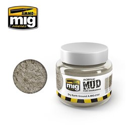 AMMO OF MIG A.MIG-2101 Acrylic Mud Dry Earth Ground 250ml