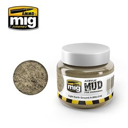 AMMO OF MIG A.MIG-2102 Acrylic Mud Light Earth Ground 250ml