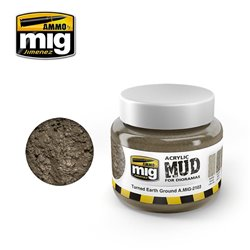 AMMO OF MIG A.MIG-2103 Acrylic Mud Turned Earth Ground 250ml