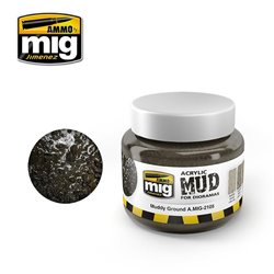 AMMO OF MIG A.MIG-2105 Acrylic Mud Muddy Ground 250ml