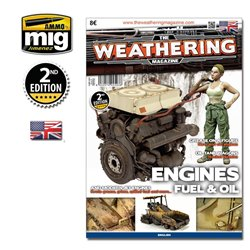 AMMO BY MIG A.MIG-4503 The Weathering Magazine Issue 4 Engine Grease And Oil English