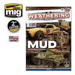 AMMO OF MIG A.MIG-4504 The Weathering Magazine Issue 5 Mud English 2th Edition