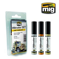 AMMO OF MIG A.MIG-7506 Oilbrusher Set Light Fading 10ml