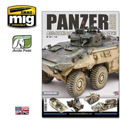 AMMO OF MIG PANZ-0054 Panzer Aces Issue 54 Modern AFV English