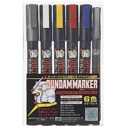 GUNZE AMS105 Gundam Marker Basic Set