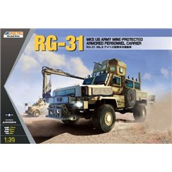 Kinetic K61015 1/35 RG-31 Mk5 US Army Mine-protected Armored