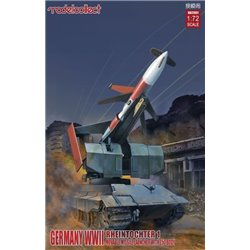 Modelcollect UA72031 1/72 German Rheintochter 1 Movable Missile Launch
