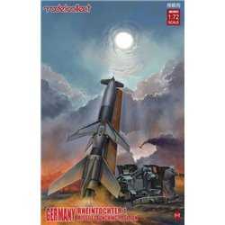 Modelcollect UA72072 1/72 Germany Rheintochter 1 Missile Launching Position 1+1