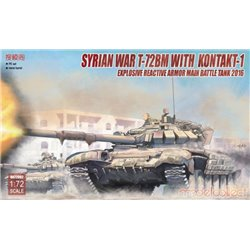 Modelcollect UA72082 1/72 Syrian War T-72BM with Kontakt-1