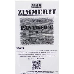 ATAK Model 35039 1/35 Zimmerit Panther G