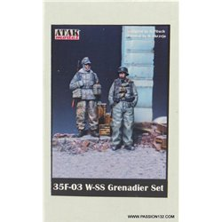 ATAK Model 35F-03 1/35 W-SS Grenadier Set