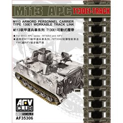 AFV Club AF35306 1/35 M113 APC T130E1 Workable Track Link