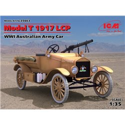ICM 35663 1/35 Model T 1917 LCP WWI Australian Army Car