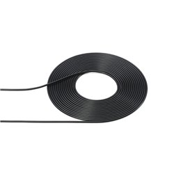 Tamiya 12675 Câble Diamètre ext 0.5mm Noir - Black 2 mètres